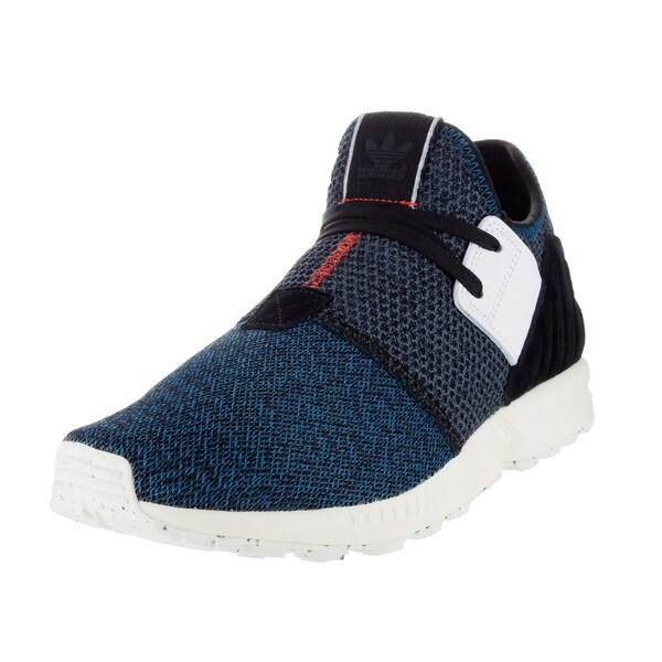 63bd1bb6a Shop Adidas Men s Zx Flux Plus Originals Surpet Black White Running ...