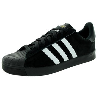Adidas Men's Superstar Vulc A Black/White/Black Skate Shoe
