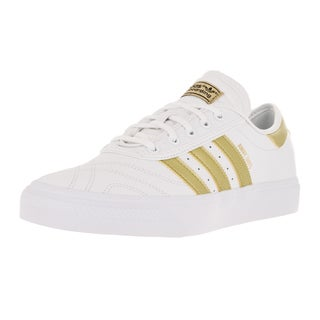 Adidas Men's Adi-Ease Premiere Away Day White/Gold/Gum4 Skate Shoe