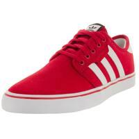 Adidas Men's Seeley Scarlett/White/Black Skate Shoe