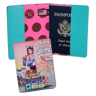 Nicole Lee Exclusive Choe Print Passport Holder