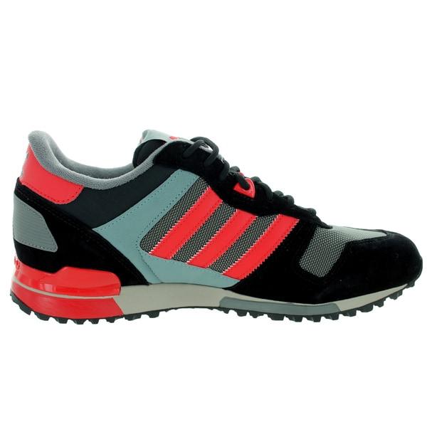 adidas Originals Men's ZX 700 Shoes Core Black Tomato B24833
