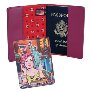 Nicole Lee Exclusive Donna Print Passport Holder