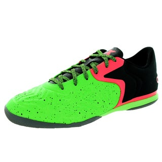 Adidas Men's x 15.2 Ct Black/Flared/Green Indoor Soccer Shoe