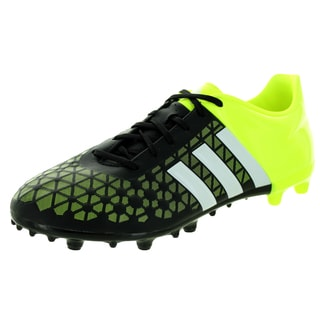 Adidas Men's Ace 15.3 Fg/Ag Black/White/ Soccer Cleat