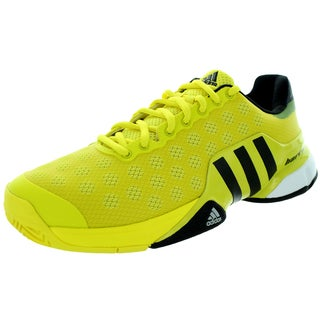 Adidas Men's Barricade 2015 Yellow/Black/White Tennis Shoe