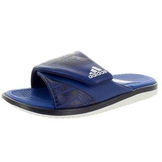 Adidas Men's Camouflage Slide /White/ Sandal