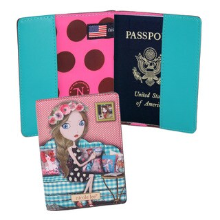 Nicole Lee Exclusive Iris Print Passport Holder