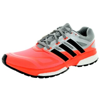 Adidas Men's Response Boost Techfit M Orange/Grey Running Shoe