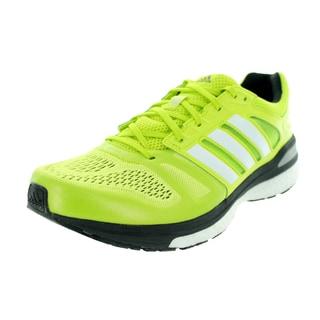 Adidas Men's Supeova Sequence 7 Semi Solar Yellow/White/Black Running Shoe