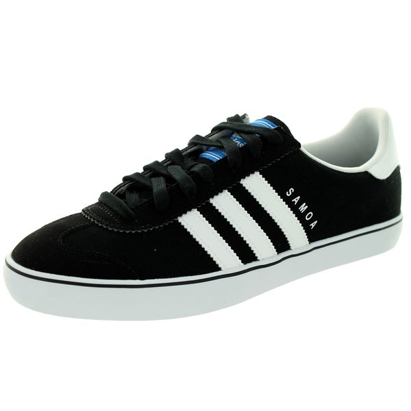 49f728e4b403 Shop Adidas Men s Samoa Vulc Black White  Casual Shoe - Free ...
