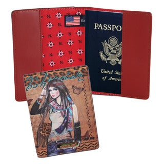 Nicole Lee Exclusive Trinity Print Passport Holder