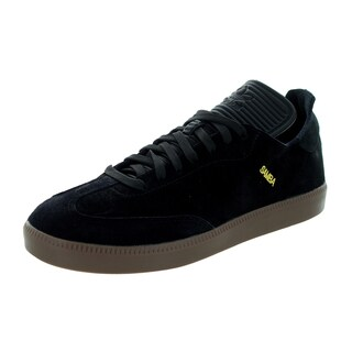 Adidas Men's Samba Mc Black/Black/Gold Metallic Casual Shoe
