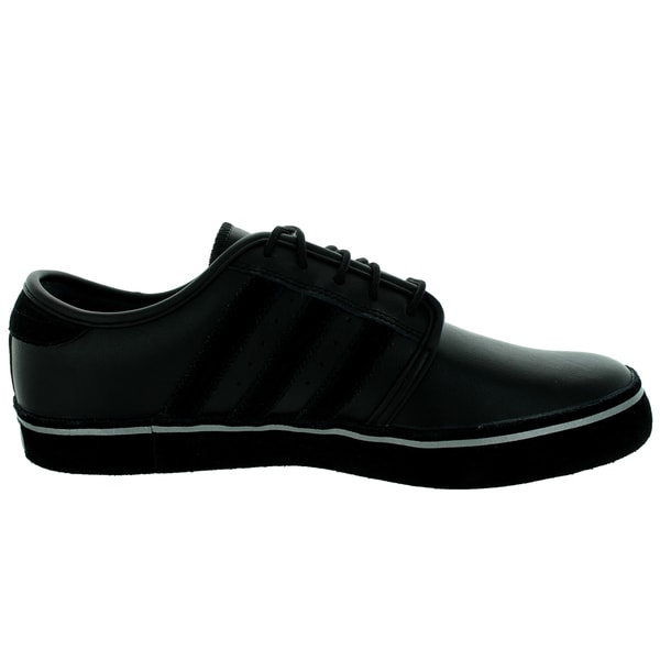 Shop Adidas Men's Seeley BlackBlackGold Skate Shoe Free