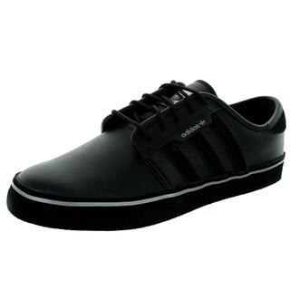 Adidas Men's Seeley Black/Black/Gold Skate Shoe