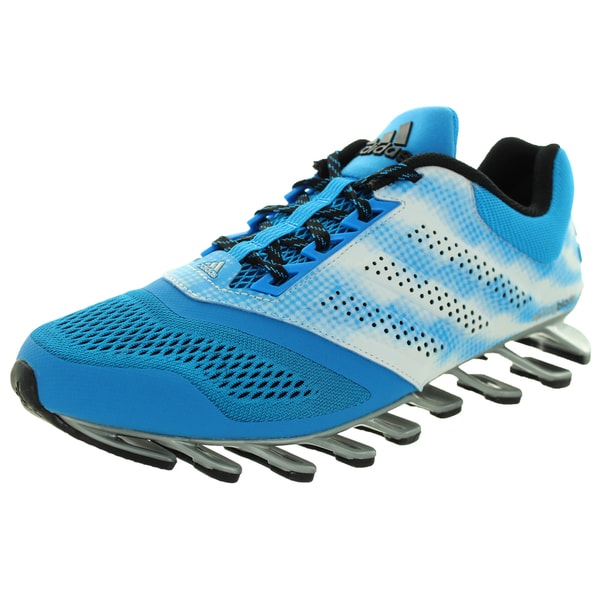 Shop Adidas Men s Springblade Drive 2 M Blue White Running Shoe ... 39f164fd4314