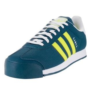 Adidas Men's Samoa Originals Minera/Yellow/White Casual Shoe