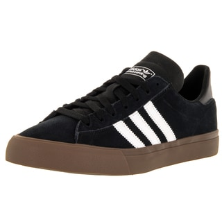 Adidas Men's Campus Vulc Ii Black/White/Gums Skate Shoe