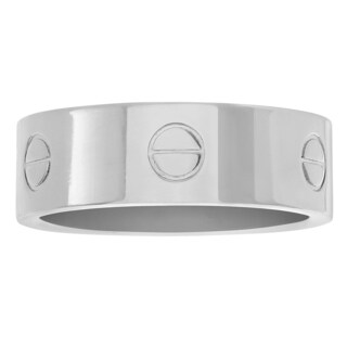 Territory Stainless Steel Circle Pattern Wide Band|https://ak1.ostkcdn.com/images/products/12320089/P19152993.jpg?_ostk_perf_=percv&impolicy=medium