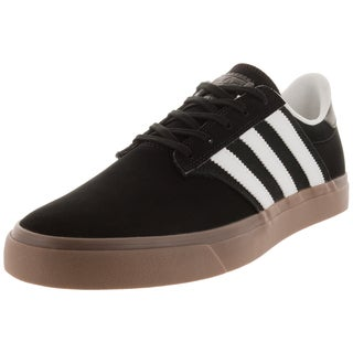 Adidas Men's Seeley Premiere Black/White/Gums Skate Shoe