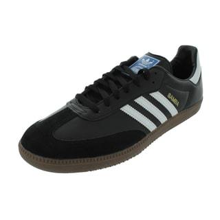 Adidas Men's Samba Classic Originals Black/White/Gum5 Indoor Soccer Shoe
