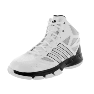 Adidas Men's Cross 'Em 2 RunWhite/MetBlack Basketball Shoe