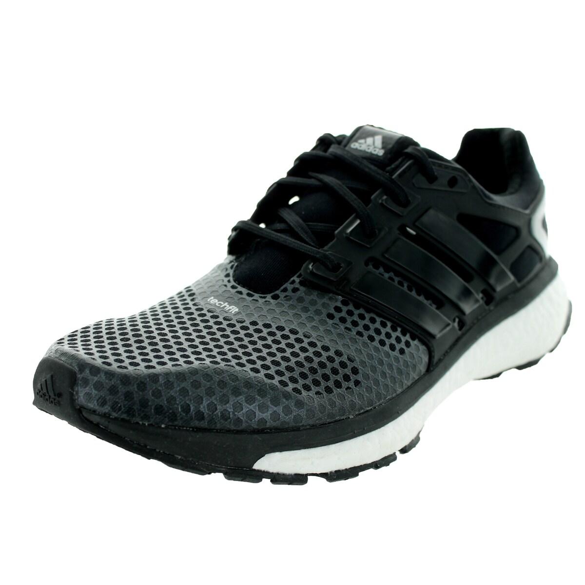Adidas Men's Energy Boost 2 Atr BlackMetallic Silver Running Shoe