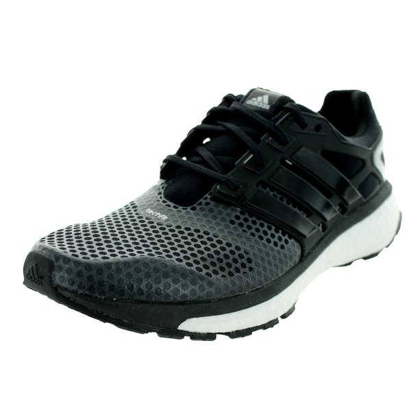 Adidas Men's Energy Boost 2 Atr Black/Metallic Silver Running Shoe ...