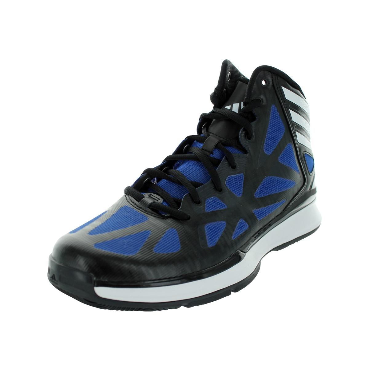 Adidas Men's Crazy Shadow 2 Black/RunWhite/Colroy Basketb...
