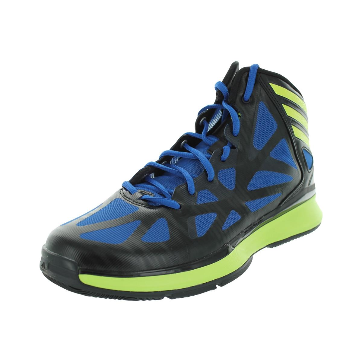 Adidas Men's Crazy Shadow 2 Black/Electr/Bluebea Basketba...