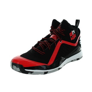 Adidas Men's D Howard 5 Black/Scarlet/Black Basketball Shoe