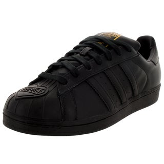 Adidas Men's Superstar Pharrell Supersh Originals Black/Black/Yellow Casual Shoe