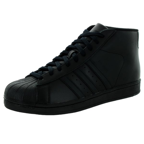 Mens Adidas Pro Model Black Basketball Shoe