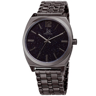 Joshua & Sons Men's Quartz Easy-to-Read Grey Bracelet Watch