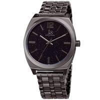Joshua & Sons Men's Quartz Easy-to-Read Grey Bracelet Watch