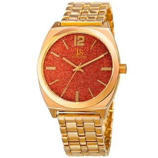 Joshua & Sons Men's Quartz Easy-to-Read Gold-Tone Bracelet Watch with FREE GIFT https://ak1.ostkcdn.com/images/products/12320284/P19153176.jpg?impolicy=medium