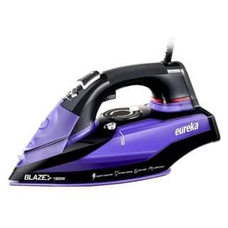 Eureka Blaze Original 1,800-watt Iron with Powerful Steam Surge Technology and Purple Storage Pouch|https://ak1.ostkcdn.com/images/products/12320289/P19153179.jpg?impolicy=medium
