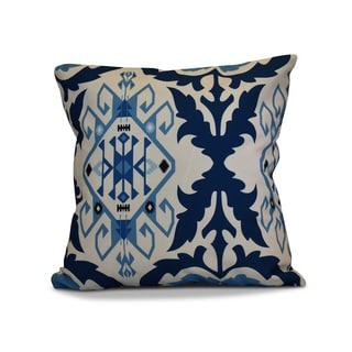 18 x 18-inch, Bombay 6, Geometric Print Outdoor Pillow