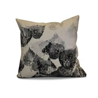 18 x 18-inch, Fall Memories, Floral Print Outdoor Pillow