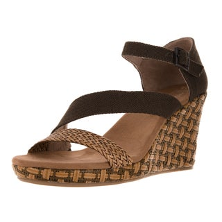 Toms Women's Clarissa Olive Textile Casual Shoe