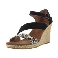 Toms Women's Clarissa Black/White Casual Shoe