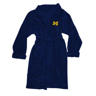 COL 349 MichigaN L/XL Bathrobe - Multi-color