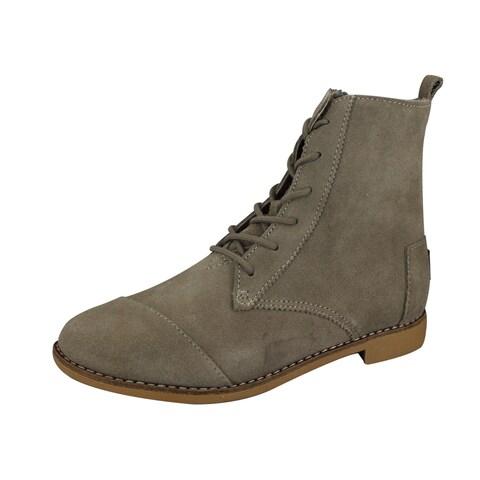 Toms Women's Alpa Brown Suede Boot
