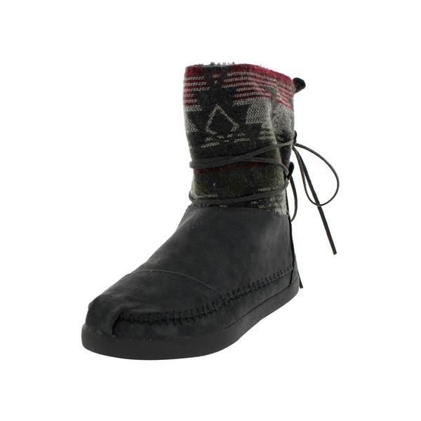 9c7335f9c9a Shop Toms Women s Nepal Jacquard Boots Grey Boot - Free Shipping ...