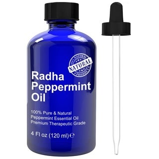 Radha Beauty 4-ounce Peppermint Oil