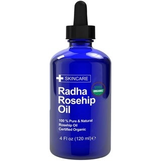 Radha Beauty 4-ounce Rosehip Seed Oil