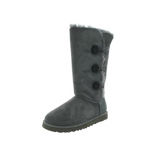 Ugg Boot W Bailey Button Triplet (Grey)