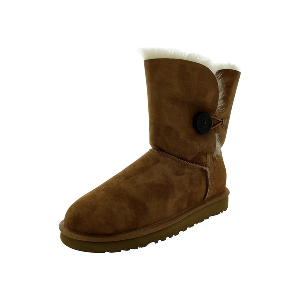 7ba26f93ad8 Shop Ugg Boot W Bailey Button (Chestnut) - Free Shipping Today ...