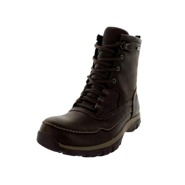 Shop Clarks - Men's Quantockhigtx Brown Boot - Clarks - 12320762 bff42b