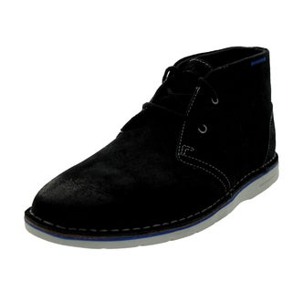 Clarks Men's Sandover Hi Black Boot